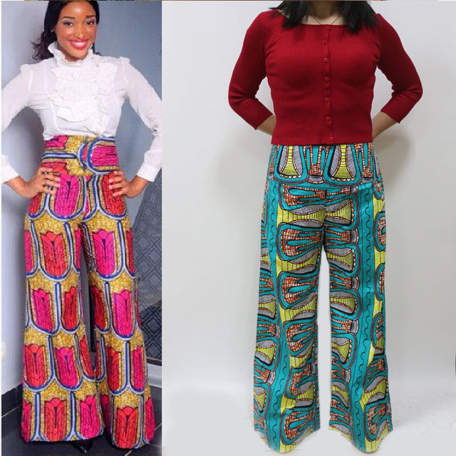 2017 super wax african print pants african print trousers ankara pants with pockets from china. Black Bedroom Furniture Sets. Home Design Ideas