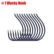 10pcs/lot Wacky Hooks Drop-Shot Rig Fishing Hook Accessories for