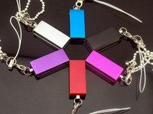 Fashion rotating usb memory stick 2.0 flash drive 128gb 64gb 32gb  disk pen gadget free shipping