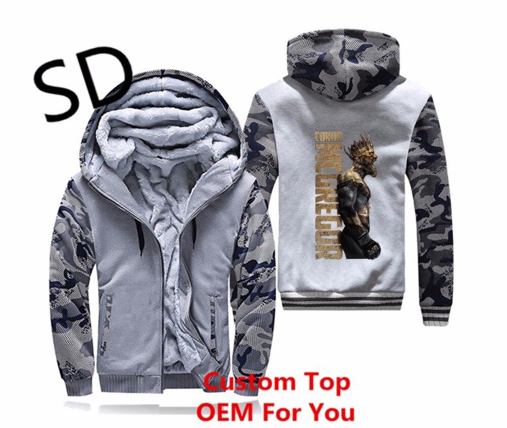Mcgregor Camouflage 3d Gray Le La Vintage Gray Capuche Hommes navy Moletom À dark Blue Hoodies Plus Roi De Streetwear Dropshipping 4xl Taille Sweat Conor Top px7vq7d