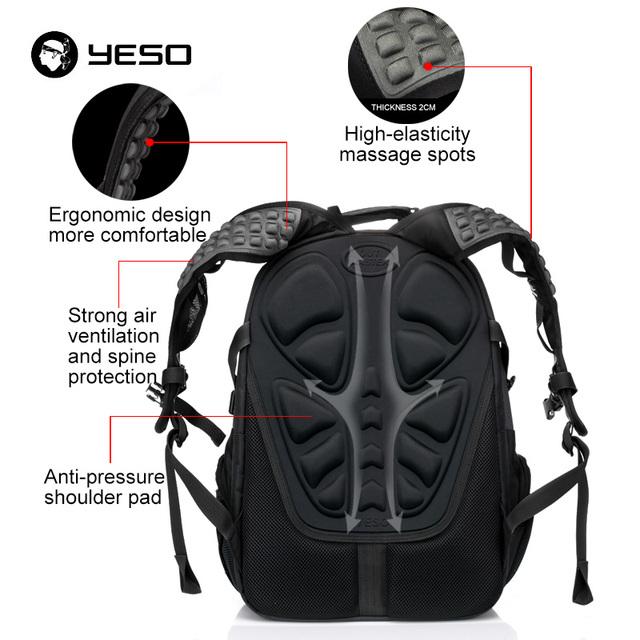 Laptop Backpack Men's Travel Bags 2018 Multifunction Rucksack Waterproof backpack