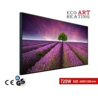 720W Infrared Heater IR Electric Heating Panel Wall Mounted Heat