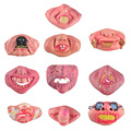 Fun Scary Horrible Mask Party Halloween Fool's Day Clown latex Mask Cosplay Costume Half Face Masks Woman Man Children