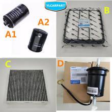 Auto Air/Klimaanlage/Kraftstoff/Schmieröl Filter Kit, Für Geely Atlas,Boyue,NL3,SUV,Proton X70,Emgrand X7 Sport