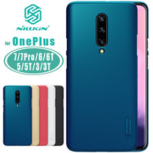 Nillkin for OnePlus 7 Pro 7 6T 6 5T Case Super Frosted Shield PC Back Cover for OnePlus 6 6T 7T 5T 7 Pro 5 3 3T Nilkin Case