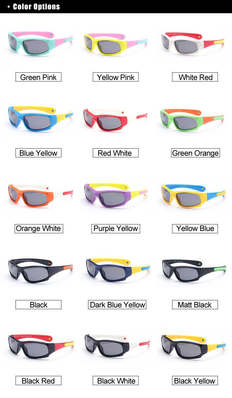 4f66e79acda3 ... Kids Sport Cycling Fish Sunglasses Polarized Anti UV Protection Eyewear  Child Polaroid Sun Glasses Girls Boys ...