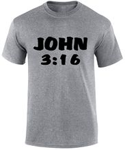 John 3:16 Bible quote Religious Christian Jesus Christ Slogan Funny T Shirt  Free shipping Tops Fashion Classic Unique gift