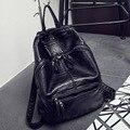 Bailar Women Backpacks waterproof for teenage girls string PU Leather vintage Mochila Escolar school Travel Bags Fashion F699