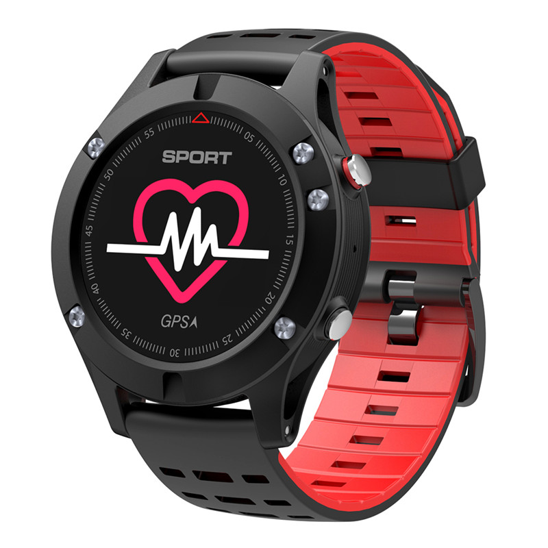 Original <font><b>NO.1</b></font> <font><b>F5</b></font> <font><b>Smart</b></font> <font><b>Watch</b></font> IP67 Heart Rate Monitor GPS Multi-Sport Mode OLED Altimeter Bluetooth Fitness Tracker Android IOS image