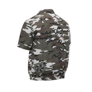 Image 4 - Factory Fan Air Conditioning Suit Summer Site Outdoor Camouflage Cooling Fan Clothes Fireproof Welding Cooling Ice Jacket Coat