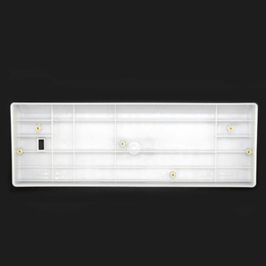 Image 5 - Wholesales מיני מקלדת GH60 פלסטיק מקרה עבור 60% משחקים מכאניים מקלדת תואם Poker2 Pok3r Faceu 60 פלסטיק פגז