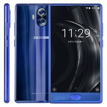 Doogee Mix Lite Cellphone 4G Lte 2GB+16GB Fingerprint Dual Back Camera 5.2 inch Android 7.0 MTK6737 Quad Core Smartphone 3080mAh