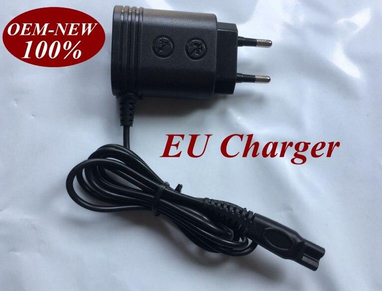 220-240V EU <font><b>Charger</b></font> Plug for <font><b>PHILIPS</b></font> Norelco HQ8505 HQ7310,HQ7320,HQ7340,HQ7350,HQ7360,HQ7380, HQ7390,HQ7100,HQ7200,HQ7240 hq8