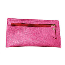 Maison Fabre Fashion Wallets Women Colors Solid Leather Clutch Holder Purse Lovely High Quality Hot DropShipping Coin Purse(China)