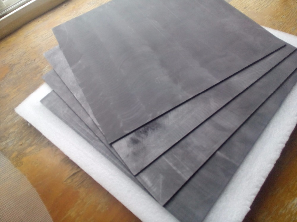 300x200x5mm high purity graphite plates for industry