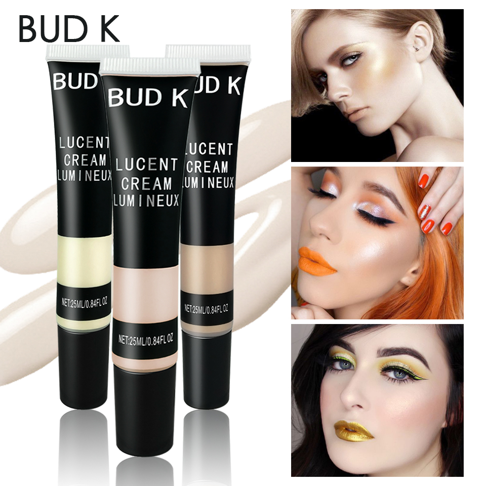 BUD K Iluminador Highlighter Shading Makeup Party Liquid Face Shimmer Body Glow Foundation