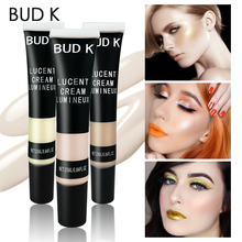 BUD K Iluminador Highlighter Shading Makeup Party Liquid Highlighter Face Shimmer Body Glow Highlighter Liquid Foundation