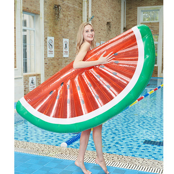 Inflatable Watermelon Pool Float Swimming Beach Lounger Mattress Beds adults floating Hammock Bed Kid