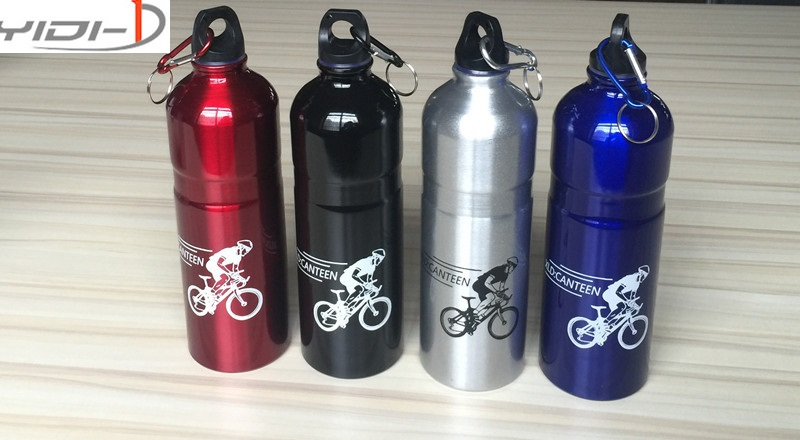Boxed electric bicycle scooter mountain bike aluminum kettle cycling sports cup cycling equipment send mountaineering buckle