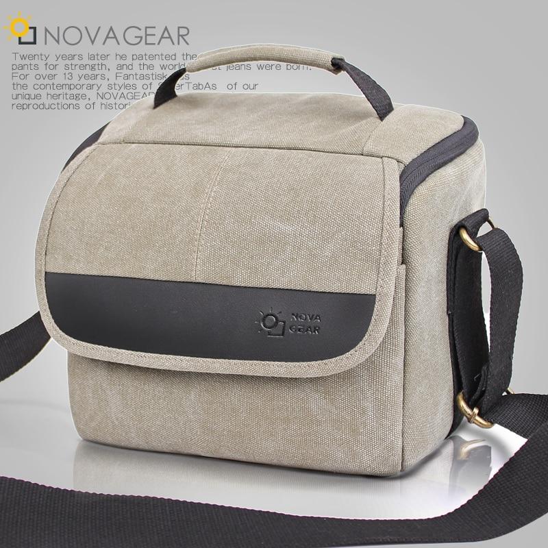 NOVAGEAR 80702 Professional DSLR Camera Bag Shoulder Bags Universal for Nikon SLR for canon SLR сумка для видеокамеры 5pcs canon nikon slr dslr