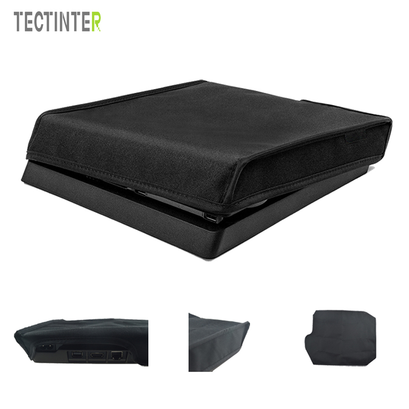 for-sony-font-b-playstation-b-font-4-for-ps4-slim-console-soft-dust-proof-neoprene-cover-sleeve-for-vertical-place-dustproof-case