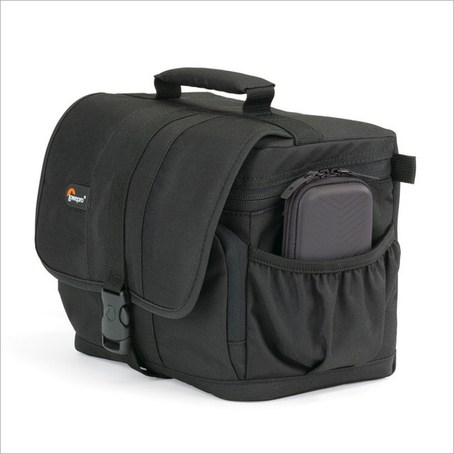 Lowepro Adventura 120 Digital SLR Camera Triangle Shoulder Bag  Rain Cover Portable Waist Case Holster For Canon Nikon