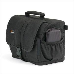 Image 1 - Lowepro aventua 120 appareil photo reflex numérique Triangle sac à bandoulière housse de pluie Portable taille boîtier étui pour Canon Nikon