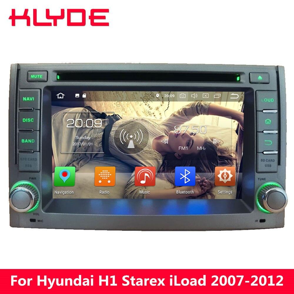 KLYDE 4g Octa Core PX5 Android 8.0 4 gb di RAM 32 gb di ROM Auto Lettore DVD Radio Per Hyundai h1 2007 2008 2009 2010 2011 2012 2013 2014