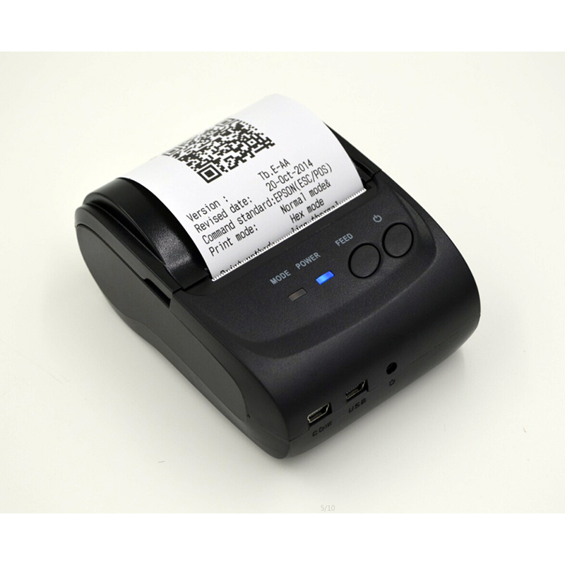 Bluetooth thermal printer paper use mobile products supporting the use of supermarket convenience stores free shipping seek thermal