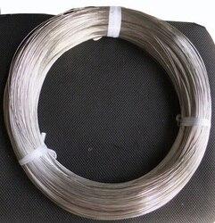 1.2 -- 4.0mm, 1 kg, 304 fio de aço inoxidável, revestimento brilhante, fio de aço da mola com dureza, fio duro, linha do gancho, cabo elástico