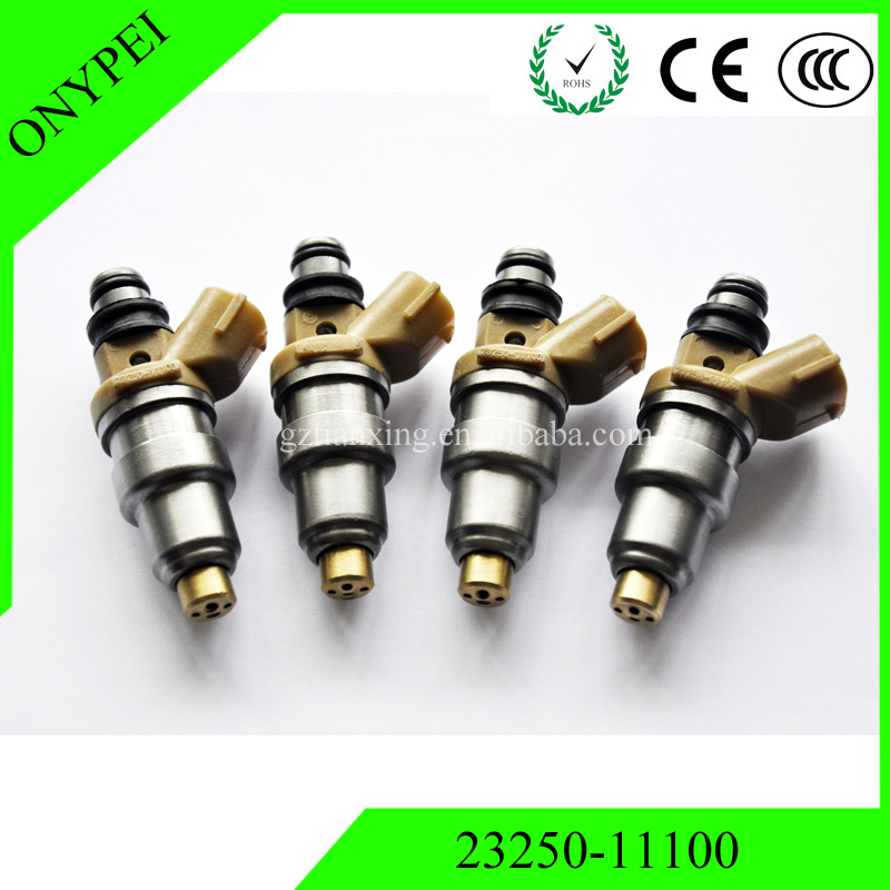 4 pcs 23250 11100 23209 11100 Fuel Injector For Toyota Paseo 1 5L Corolla EE101