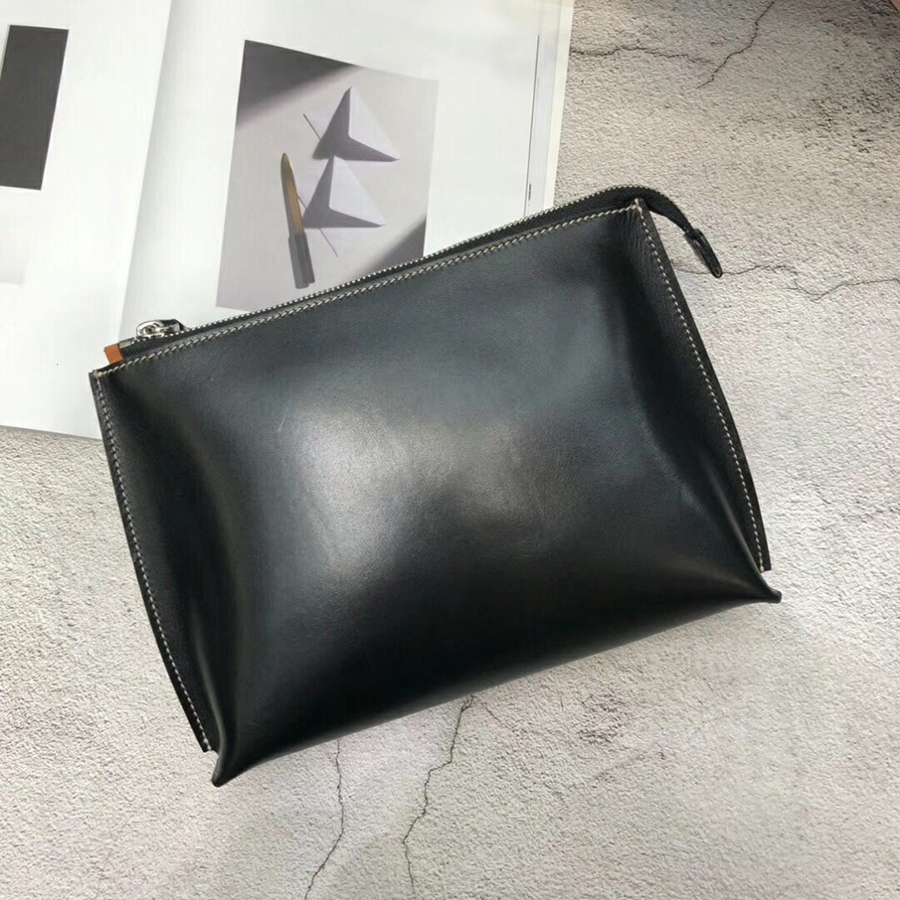 new luxury High quality leather Men Purse Fashion Wallet Clutch Bag Long Male Hand Bag Card Holder Zipper Business Purses new trend man long wallet top layer cowhide hand take bag quality card holder male purse business notecase pr089007