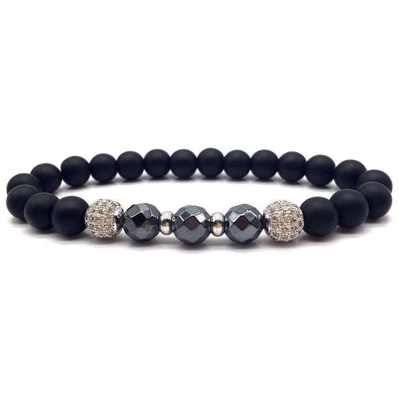 Bead Mens Bracelet 2018 Fashion New Beads Charm Bracelets & Bangles For Men Fashion Jewelry Gift