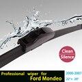 """Escovas para Ford Mondeo (2000-2007) 22 """"+ 20"""" fit padrão J gancho limpador braços só HY-002"""