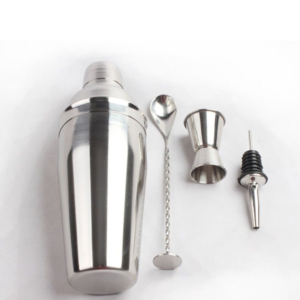 Stainless Steel Cocktail Set Bar Bartending Tool 3 Piece Set Cocktail Shaker Set For Bar Tool in Cocktail Shakers from Home Garden
