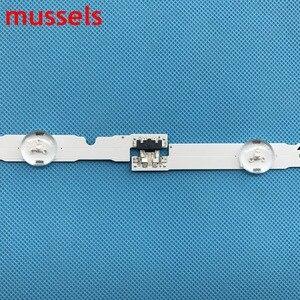 """Image 3 - LED Backlight strip For Samsung 48"""" 1060mm 9Lamp 2014SVS48F UA48J5088AC UE48H6400 BN96 30453A D4GE 480DCA R3 D4GE 480DCB R3 New"""