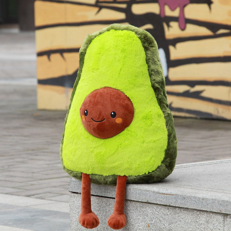 Toys & Hobbies Practical 50cm Funny Simulation Avocado Plush Pillow Soft Cartoon Fruit Avocado Stuffed Doll Sofa Chair Cushion Nap Pillow Kids Best Gifts Special Buy