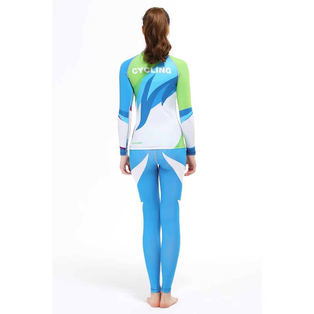 2016 New Arrival Running Sports Shirt Women Yoga Sets Two Pieces Breathable Suit High Quality Quick-Drying Gym Sports Suits