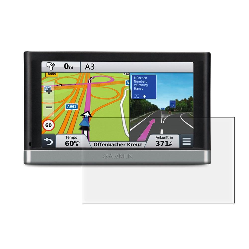 3x Anti-Scratch Clear LCD-skärmskyddsfilm för Garmin Nuvi 2577 - Reservdelar och tillbehör för mobiltelefoner