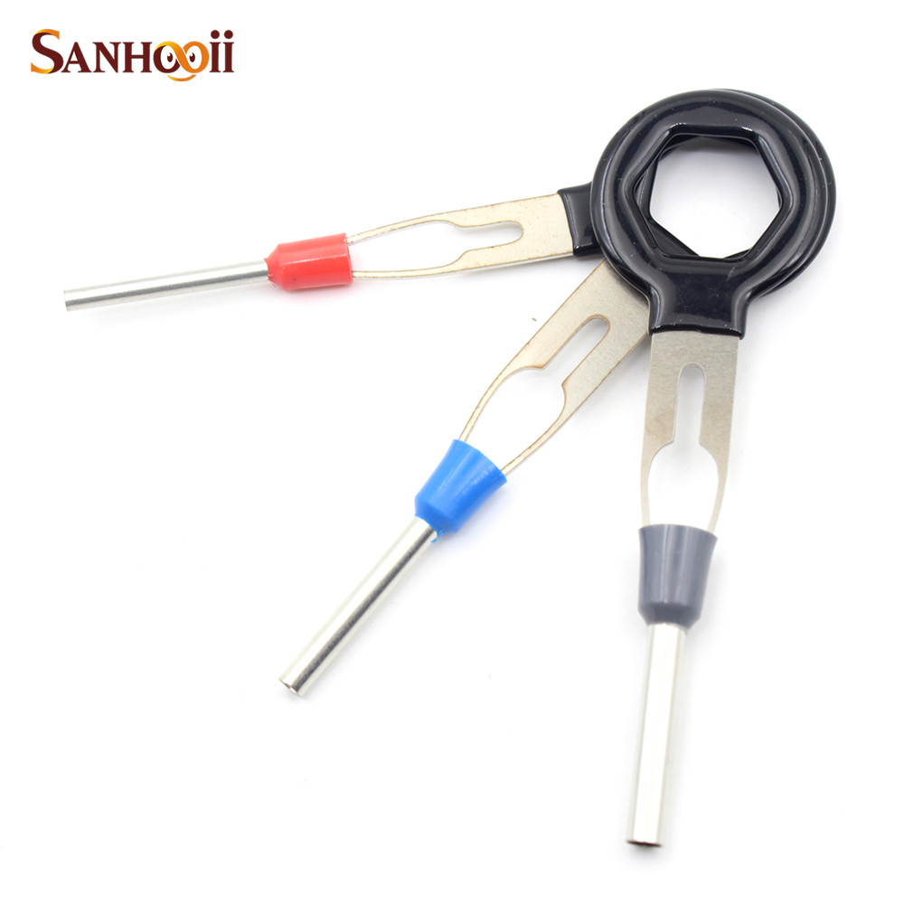 Aliexpress.com : Buy SANHOOII 11in1 Terminal Removal Tools Car Electrical  Circuit Board Wire Harness Wiring Crimp Connector Pin Extractor Kit from  Reliable ...