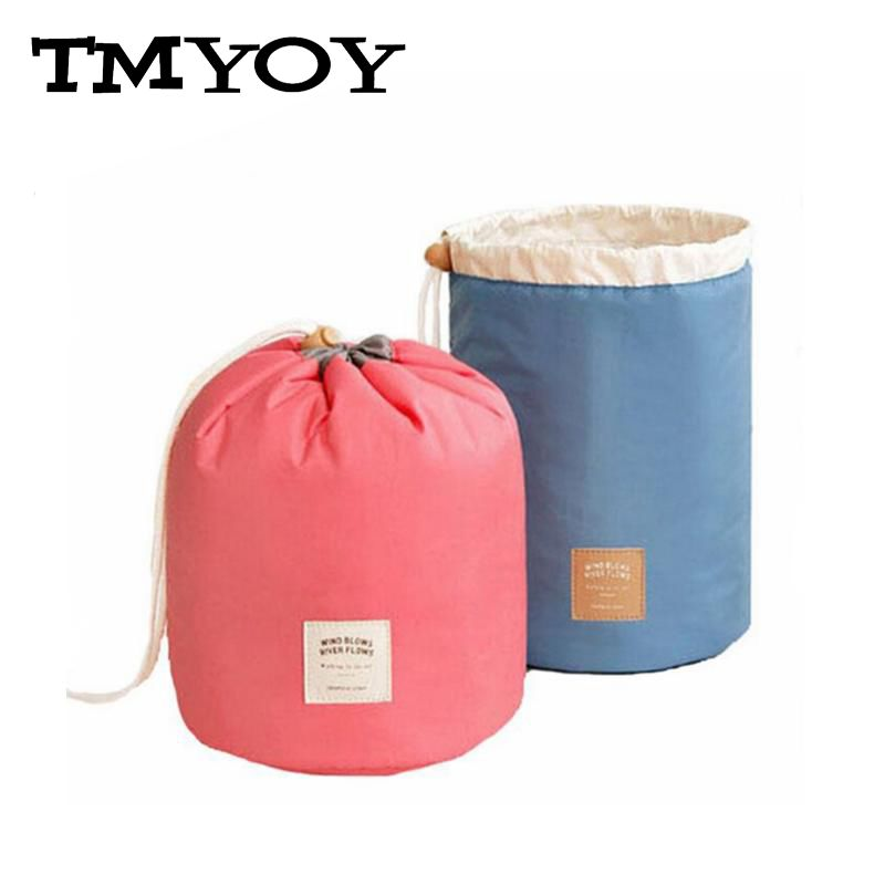 TMYOY 2018 New Brand Nylon Makeup Bags Women's Cosmetic Bags Waterproof long Travel Bags Ladies Bolsas Cosmetic Cases DB5613