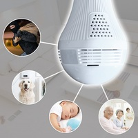WIFI Bulb Panoramic Camera 360 Degree Cctv Smart Home 3D Fisheye VR CAM 1 3MP 2