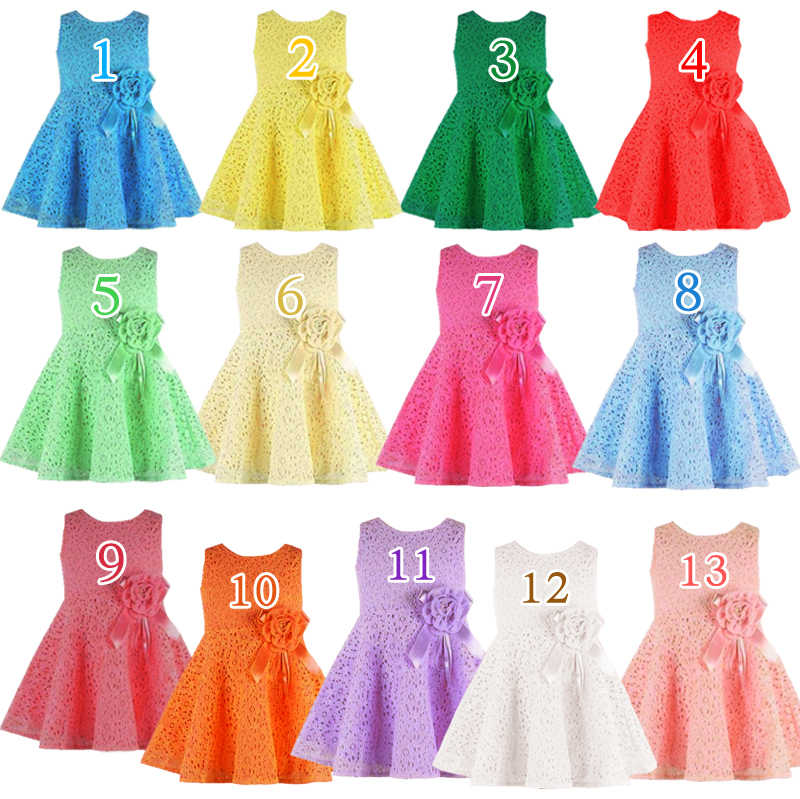 Fashion 2014 Summer New girls kids Children noble fairy bow princess lace dress high quality