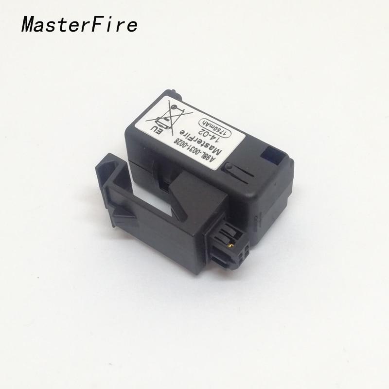 5 pçs/lote Original Novo MasterFire A98L-0031-0028 A02B-0323-K102 3v 1750mAH PLC Bateria Baterias