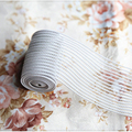 5 метров 40 мм Эластичная лента для пошива нижнего белья белая сетка эластичная лента для одежды ручной работы аксессуары украшения отделка