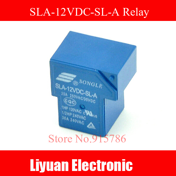 5pcs Sla-12vdc-sl-a 4 Pins A Set Of Normally Open 30a 250vac T90 2150 Dc Mini Power Relay In Many Styles