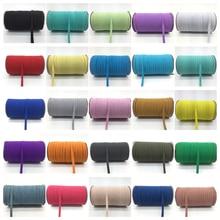 32 цвета 5 метров 7 эластичные нитки многоцелевой обрезанная лента швейные кружевная отделка спандекса пояс Одежда Аксессуары