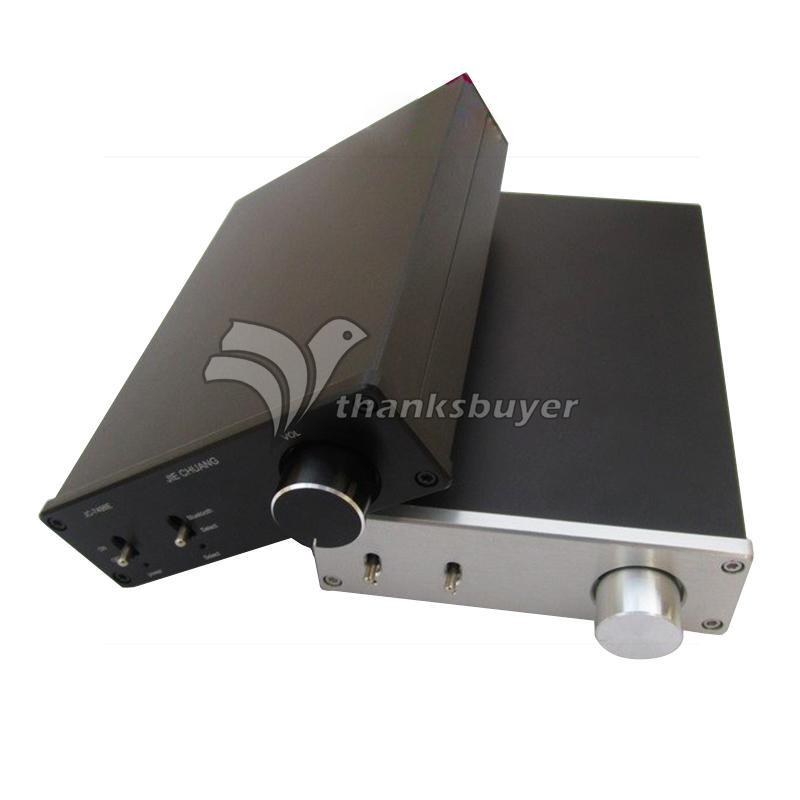TDA7498E 2X160W HIFI Bluetooth Digital Amplifier Dual Track Black (Power Supply not Included) line5 black and gold a965 100w bluetooth wireless digital power amplifier hifi power amplifier power