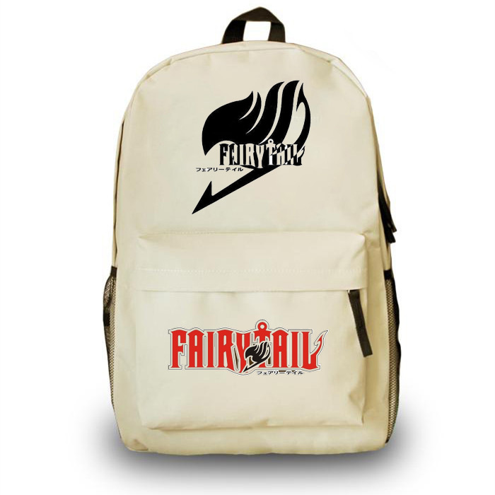 2016 Anime Fairy tail backpack student cartoon school bags gift for boys girls children AB330 anime gravity falls journal 3 cosplay plush backpack boys girls school bags backpack children cartoon shoulder bag cool gift