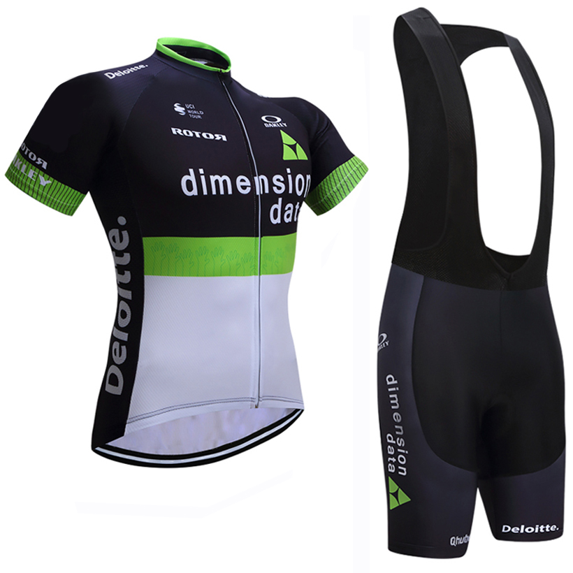 2018 Data Cycling Clothing Bike jersey Quick Dry Mens Bicycle clothes summer team Cycling Jerseys gel bike shorts set